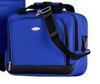 "New Olympia Let's Travel Carry-On 15"" boarding tote Luggage  Royal Blue"