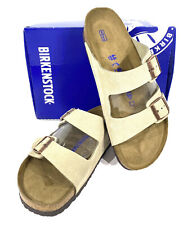 Birkenstock Arizona BS Men's Size 13 (EU46)Reg Fit Taupe Suede Sandals KC-122