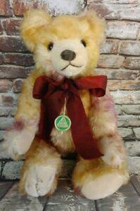 "HERMANN German Sonneberg 835 A Artline LIGHT BROWN MOHAIR #86 Of 500~ 14"" Bear"