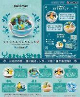 Re-ment Pokemon Terrarium Collection Vol.2 Miniature Figures Full set 6 packs JP