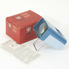 PATERSON TRIDENT 35mm SLIDE VIEWER BOXED WITH INSTRUCTIONS & TESTED