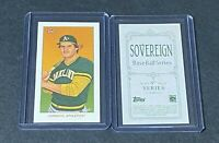 2020 TOPPS T206 SERIES 5 JOSE CANSECO SOVEREIGN BACK SP ATHLETICS