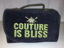 Juicy Couture Travel Cosmetic Compartment Bag
