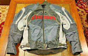 ICON Contra Motorcycle Jacket - slate - Large