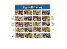 USPS Legendary Football Coaches Stamps Sheet