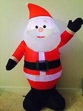 Santa LED Lighted Air blown Inflatable 3.6 Feet Light Up Self Inflate