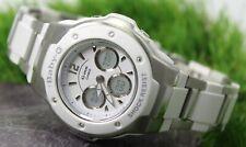 CASIO BABY-G G-MSG-300C Women's White Analogue/Digital Quartz Watch
