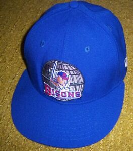 Authentic BUFFALO BISONS New Era 59Fifty STAR WARS Night Fitted BLUE HAT/Cap 7
