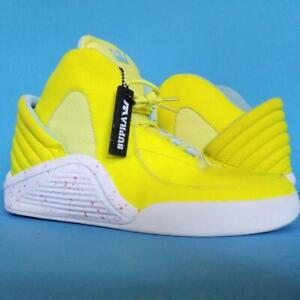New SUPRA Skateboard SNEAKERS Yellow SPECTRE Chimera NOS SHOES Moonboots sz 11.5
