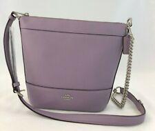 New Authentic Coach F76668  Handbag Purse Small Paxton Duffle Purple