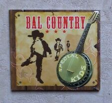 CD AUDIO MUSIC/ BAL COUNTRY SPÉCIAL KIDS 30T CD COMPILATION + LIVRET 8 PAGE NEUF