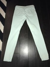 Women's Express Mint Jean Legging Pants Size 4