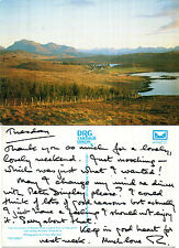 1990's AULTBED ABOVE WESTER ROSS SCOTLAND COLOUR POSTCARD