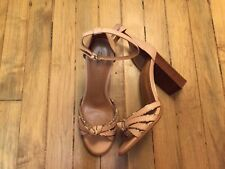 COACH KIKI OPEN TOE STRAPPY HEEL LEATHER SHOES NEW SIZE 8