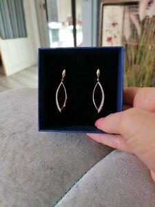 Genuine swarovski Earrings new