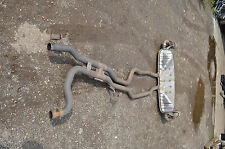 genuine used PORSCHE CAYENNE 4.5  exhaust system & back box   03-07 car