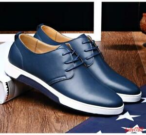 Men's Lace Up breathable  Loafers Casual Driving Shoes Sneakers