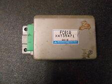 *Sd+ 1989-91 s5 Mazda Rx7 Cruise Control Module ecm computer unit X4T35471 Fc01A