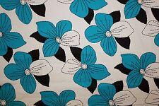 Floral Poplin Print #28 Cotton Lycra Spandex Stretch Woven Apparel Fabric BTY