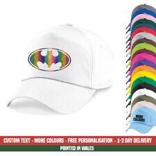 Batman Pride Baseball Cap Rainbow Glitter Gay LGBT Festival Party Gift Hat