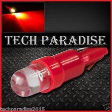 1x Ampoule T5 W1.2W W2X4.6D ( pour B8.3D ) LED Bulb Rouge Red Neo Wedge