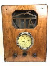 Superbe Poste radio TSF TTA 1930 Made In France