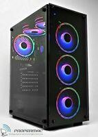 ARGB FAST GAMING PC i7-6700 SSD HDD 16 GB RAM 8GB GDDR6 RTX 3060 Ti Windows 10