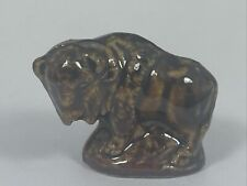 New ListingWade of England Bison Buffalo Red Rose Tea Miniature Figurines Whimsies