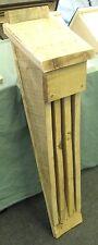 Handmade wooden Barbastelle Nursery Bat Box house - untreated green oak timber