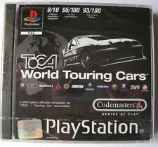 TOCA WORLD TOURING CARS  PS1 PLAYSTATION ONE VERSIONE PAL