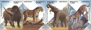 Guinea-Bissau - 2020 Extinct Species Animals - 4 Stamp Strip - GB200507a