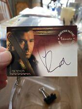 The Scorpion King Movie Inkworks Autograph Card A5 Steve Brand as Memnon