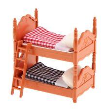 Puppenhaus Miniaturen Puppen Möbel Kinder Bett Etagenbett 1489