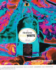 PUBLICITE ADVERTISING 065  2001  HENNESSY  PURE WHITE   cognac