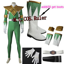 NEW Zyuranger Mighty Morphin Burai Dragon Ranger Cosplay Costume Jumpsuits Suit