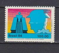 S19131) Brasil Brazil MNH New 1984 Chamber Of Commerce 1v