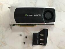 HP NVIDIA Quadro 5000 2.5GB GDDR5 Graphics Adapter
