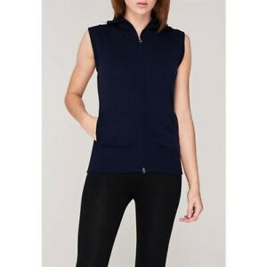 Callaway Golf Ladies Women's Moc Performance Knitted Gilet Size:XL Peacoat Blue