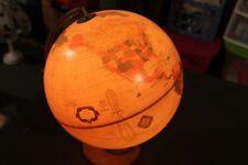 Cram's Antique World Globe - Vintage 90's - Illuminated