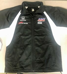 AJ Foyt Racing Garage Sale- Indy 500 IndyCar AJ Foyt Racing B/W Jacket Free Ship