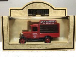 Lledo Days Gone 1934 Chevrolet Bottle Van, Schweppes Ginger Ale,NIB, Ships Free