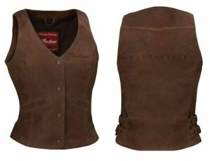 INDIAN MOTORCYCLE MENS BLACK CASUAL RETRO WAXED COTTON VEST IMC sizes M L XL 2X