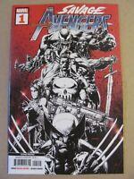 Savage Avengers #1 Marvel 2019 Series Conan Wolverine 2nd Print Variant 9.6 NM+