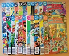 All-Star Squadron issues 1-8, 10, 12-22, 24 & Annual 1 (1981, DC, lot/run of 22)