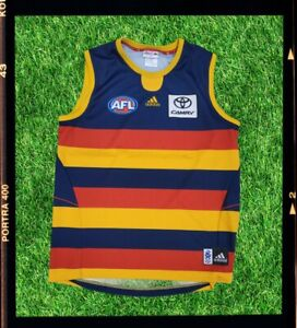 ADELAIDE CROWS AFL onfield guernsey ADIDAS tshirt shirt polo jumper
