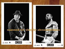 CREED rare PRESS PHOTO SET of 30 B&W Stills SYLVESTER STALLONE Rocky Balboa