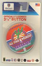 1995 NBA ALL STAR WEEKEND OFFICIAL PINBACK BUTTON PHOENIX ARIZONA 2/12/95 MINT