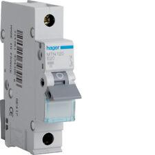 HAGER CONSUMER UNIT SP MCB CIRCUIT BREAKER MTN120 20A 20 AMP
