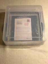 00003Bef New listing Temp-tations Bakeware Old World Blue 3 Piece microwave Grill Set With Lid