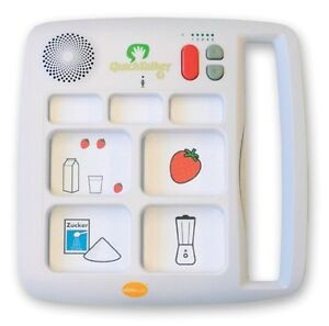 AbleNet QuickTalker 7 Fun Solution Communication Device For Special Need